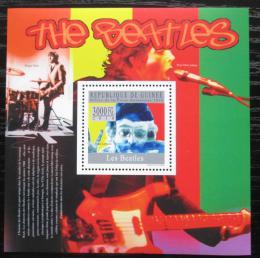 Poštovní známka Guinea 2010 The Beatles Mi# Block 1811 Kat 10€