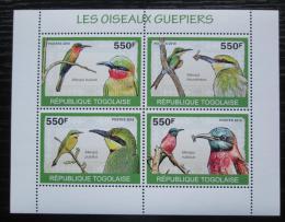 Poštovní známky Togo 2010 Vlhy Mi# 3429-32 Kat 8.50€