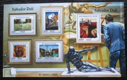 Poštovní známky Niger 2015 Umìní, Dalí Mi# 3737-41 Kat 24€