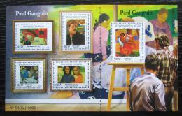 Poštovní známky Niger 2015 Umìní, Paul Gauguin Mi# 3707-11 Kat 24€