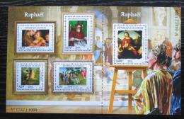 Poštovní známky Niger 2015 Umìní, Raffael Mi# 3682-86 Kat 24€