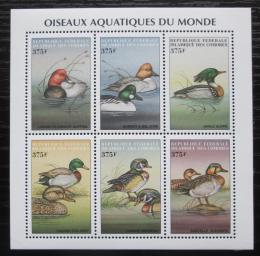 Poštovní známky Komory 1999 Kachny Mi# 1566-71 Kat 12€