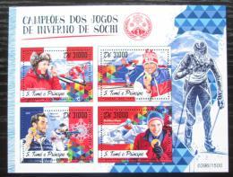 Poštovní známky Svatý Tomáš 2016 ZOH Soèi Mi# 6991-94 Kat 12€