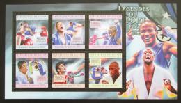 Poštovní známky Guinea 2012 Box Mi# 9603-08 Kat 18€