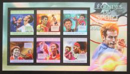 Poštovní známky Guinea 2012 Tenis Mi# 9621-26 Kat 18€