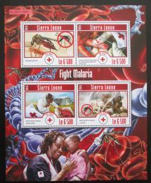 Poštovní známky Sierra Leone 2015 Boj proti malárii Mi# 6299-6302 Kat 12€