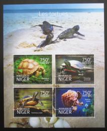Poštovní známky Niger 2014 Želvy Mi# 3184-87 Kat 12€