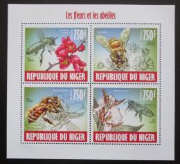 Poštovní známky Niger 2013 Vèely Mi# 2421-24 Kat 12€