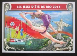 Poštovní známka Niger 2016 LOH Rio de Janeiro Mi# Block 572 Kat 12€
