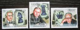 Poštovní známky SAR 2011 Svìtoví šachisti Mi# 3144-46 Kat 12€