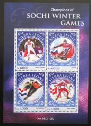 Poštovní známky Sierra Leone 2016 ZOH Soèi Mi# 6998-7001 Kat 11€