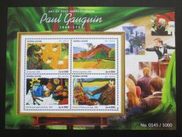 Poštovní známky Sierra Leone 2015 Umìní, Paul Gauguin Mi# 6456-59 Kat 11€