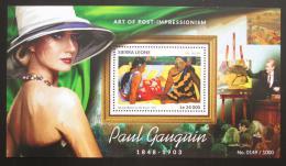 Poštovní známka Sierra Leone 2015 Umìní, Paul Gauguin Mi# Block 826 Kat 11€