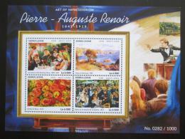 Poštovní známky Sierra Leone 2015 Umìní, Renoir Mi# 6444-47 Kat 11€