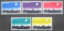 Poštovní známky Malawi 1969 Vánoce Mi# 118-22