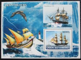 Poštovní známka Komory 2008 Plachetnice Mi# Block 444 Kat 15€