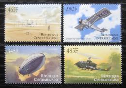Poštovní známky SAR 2000 Dìjiny letectví Mi# 2462-65 Kat 7.50€