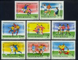 Poštovní známky Rumunsko 1990 MS ve fotbale Mi# 4594-4601 Kat 5.80€