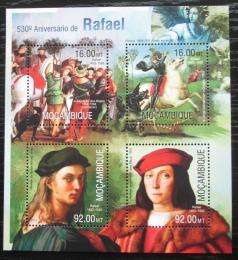 Poštovní známky Mosambik 2013 Umìní, Raffael Mi# 6712-15 Kat 13€