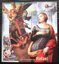 Poštovní známka Mosambik 2013 Umìní, Raffael Mi# Block 782 Kat 10€
