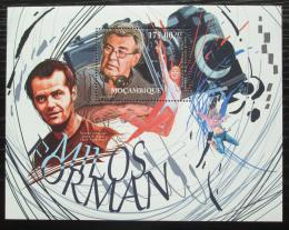 Poštovní známka Mosambik 2012 Filmy Miloše Formana Mi# Block 600 Kat 10€
