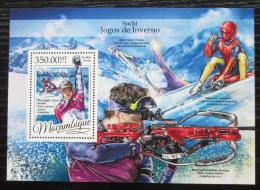 Poštovní známka Mosambik 2016 ZOH Soèi Mi# Block 1185 Kat 20€
