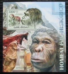 Poštovní známka Guinea-Bissau 2012 Pravìcí lidé Mi# Block 1058 Kat 13€