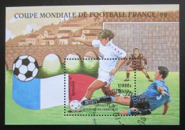 Poštovní známka Kambodža 1997 MS ve fotbale Mi# Block 225