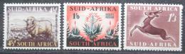 Poštovní známky JAR 1953 Fauna a flóra Mi# 234-36