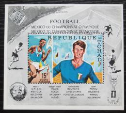Poštovní známka Èad 1970 LOH Mexiko a MS ve fotbale Mi# Block 8 A