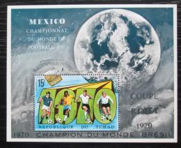 Poštovní známka Èad 1970 MS ve fotbale Mi# Block 9 A