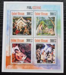 Poštovní známky Guinea-Bissau 2013 Umìní, Paul Cézanne Mi# 6919-22 Kat 14€