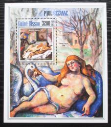 Poštovní známka Guinea-Bissau 2013 Umìní, Paul Cézanne Mi# Block 1214 Kat 13€