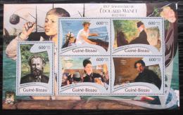 Poštovní známky Guinea-Bissau 2012 Umìní, Édouard Manet Mi# 5776-80 Kat 12€