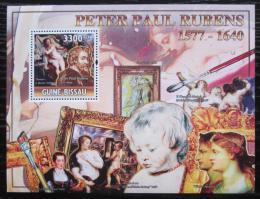 Poštovní známka Guinea-Bissau 2010 Umìní, Peter Paul Rubens Mi# Block 883 Kat 13€