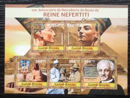Poštovní známky Guinea-Bissau 2013 Královna Nefertiti Mi# 6548-52 Kat 11€