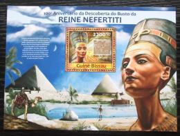 Poštovní známka Guinea-Bissau 2013 Královna Nefertiti Mi# Block 1147 Kat 9€