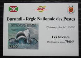 Poštovní známka Burundi 2012 Bìluha severní DELUXE Mi# 2842 B Block