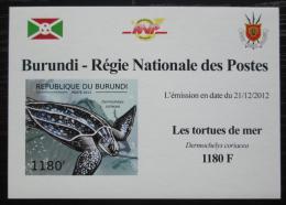 Poštovní známka Burundi 2012 Kožatka velká DELUXE Mi# 2788 B Block