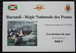 Poštovní známka Burundi 2012 Kareta plochá DELUXE Mi# 2790 B Block