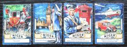 Poštovní známky Niger 2016 Královská pošta, 500. výroèí Mi# 4267-70 Kat 12€