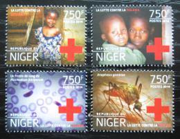 Poštovní známky Niger 2014 Boj proti malárii Mi# 3249-52 Kat 12€