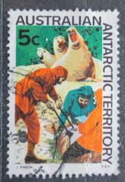 Poštovní známka Australská Antarktida 1968 Rybáøi Mi# 11