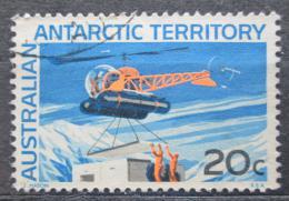 Poštovní známka Australská Antarktida 1966 Helikoptéra Mi# 15