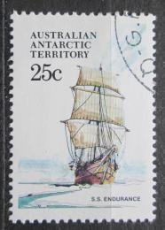 Poštovní známka Australská Antarktida 1979 Plachetnice Endurance Mi# 45