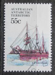 Poštovní známka Australská Antarktida 1979 Plachetnice Discovery Mi# 51