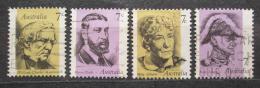 Poštovní známky Austrálie 1972 Slavní Australani Mi# 518-21