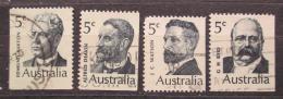 Poštovní známky Austrálie 1969 Premiéøi Mi# 424-27