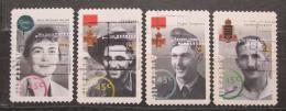 Poštovní známky Austrálie 1995 Slavní Australani Mi# 1473-76
