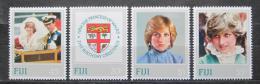 Poštovní známky Fidži 1982 Princezna Diana Mi# 464-67 Kat 6€